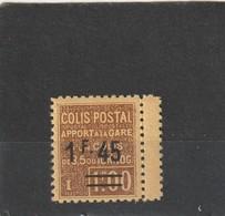 France Colis Potaux N° 88A Avec Charniére* - Nuovi