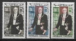 TUNISIE   -   1960  .  Y&T N° 507 à 509 *.   Président Bourguiba. - Tunisia