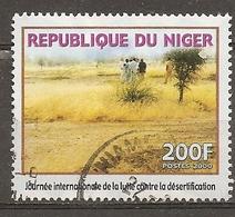 Niger 2000 Desertification Obl - Niger (1960-...)