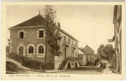 CPA 39 - Mouchard Hôtel De Ville - Ecoles N°4398 - France