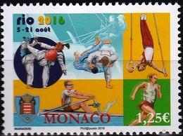 Monaco TUC 2016 YT 3043 Neuf - Ongebruikt