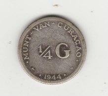 1/4 FLORIN ARGENT 1944 - Curaçao