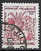 TUNISIE   -   TAXE  -   1960  .  Y&T N° 79 Oblitéré.  Fruits - Tunisia