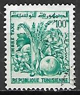 TUNISIE   -   TAXE  -   1977  .  Y&T N° 83 Oblitéré.  Fruits - Tunisia