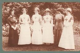 UK -Nurses Decorated 1913 - Nostalgia Postcard - Infirmières Anglaises - Cruz Roja