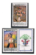 """ROMANIA - SG 5385.5386 - 1991 """"BALKANFILA '91"""" INT. STAMP EXN. (COMPLET SET OF 2; 1 WITH  LABEL)   - USED ° -    RIF. CP - Used Stamps"""