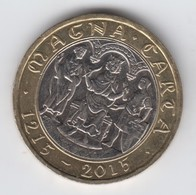 Great Britain UK £2 Two Pound Coin (Magna Carta) - Circulated - 2 Pounds