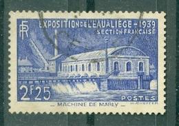 FRANCE - N° 430 Oblitéré - Exposition De L'eau, à Liège (Belgique) - Francia
