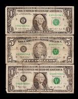 LOT US $ 7 DOLLARS 1,5 $ (F40) - Devise Nationale