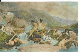 MONACO   ( MONTE CARLO )   ETABLISSEMENT THERMAL . LA JOIE DE L' EAU PAR GALLELLI - Monte-Carlo
