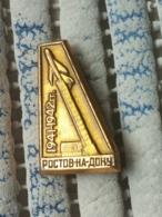 Pin Russia 5 -  AVION, PLANE, AVIO, Rostov - Luftfahrt