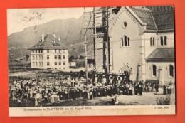 ZAL-08  RARE Glockenweihe In Planfayon Plaffeyen Am 15. August 1909, Kirche. Circulé En 1910 Vers Fribourg - FR Fribourg