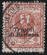 LEVANTE - Ufficio D'Africa / TRIPOLI DI BARBERIA - Francobollo D'Italia 1901/09: 2 C. Rosso Bruno - 1909 - 11. Foreign Offices