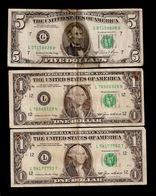 LOT US $ 7 DOLLARS 1,5 $ (F41) - Devise Nationale