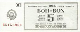 Yugoslavia 1983. Fuel Petrol Gasoline  Essence  Coupon - Joegoslavië