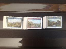 Liechtenstein 1982 Mortiz Menzinger  Mint SG 801-3 Yv 747-9 Mi 806-8 - Neufs