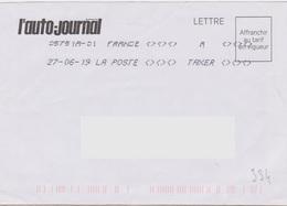 Toshiba 05751A-01 A TAXER Du 27-06-19 (absence Totale Affranchissement) - Marcophilie (Lettres)