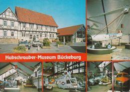 """D-31675 Bückeburg - Hubschrauber - Museum - Nice Stamp """"Wohlfahrt"""" - Elicotteri"""