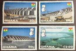 Ghana 1982 Kpong Hydro-Electric Project MNH - Ghana (1957-...)
