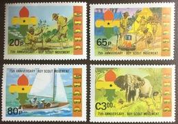 Ghana 1982 Scouts MNH - Ghana (1957-...)