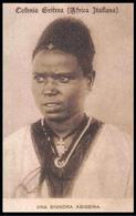 COLONIA ERITREA - AFRICA ITALIANA - Una Signora Abissina - Eritrea