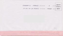 Toshiba 37668A-01 A TAXER Du 17-04-19 (absence Totale Affranchissement) - Marcophilie (Lettres)