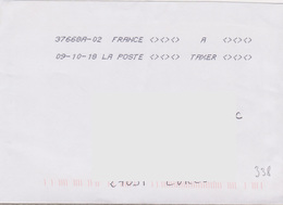 Toshiba 37668A-02 A TAXER Du 09-10-18 (absence Totale Affranchissement) - Marcophilie (Lettres)