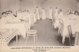 Croix Rouge Britannique Et Ordre De Saint-Jean -Fondation Michelham-Hôpital Benevole N4 - Salle Des Malades - Croix-Rouge