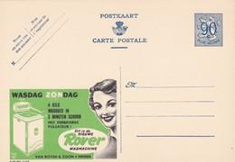 Carte Entier Postal Pubibels 1129 Maché à Laver Rover Menen - Enteros Postales