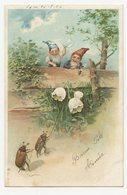 Lutins Nains Des Forêt.gnomes.hannetons Le Brin De Muguet. - Fairy Tales, Popular Stories & Legends