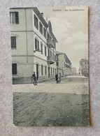 Cartolina Illustrata Sondrio - Via Circonvallazione (primi Del Novecento) - Non Viaggiata - Sondrio