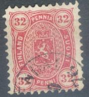 Finlande    Yvert  20  Ou Michel  18Ay   Ob  TB - 1856-1917 Russische Verwaltung