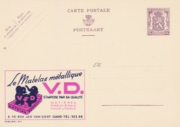 Carte Entier Postal Pubibels 863 Le Matelas Métallique V.D. Gand - Enteros Postales