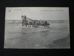 MIDDELKERKE 1909 - LE LANCEMENT DU BATEAU DE SAUVETAGE - DE GRAEVE 1112 - Middelkerke