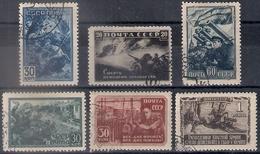 Russia 1942, Michel Nr 836-41, Used - 1923-1991 USSR