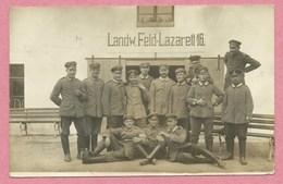 57 - AMELECOURT - Ferme - Carte Photo Militaire Allemande - Landwehr Feld-Lazarett 16 - Feldpost - Guerre 14/18 - Sin Clasificación