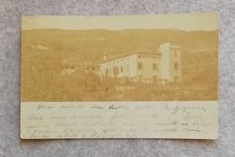 Cartolina Postale Zona Di Verona Con Scorcio Panoramico Di Villa  Viaggiata Fine '800 - Verona