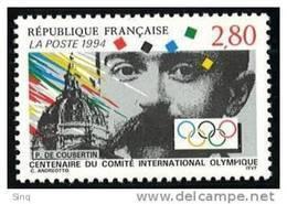 N° 2889 Centenaire Du CIO  Faciale 2,80F - Unused Stamps