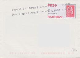 Toshiba 71043A-01 A TAXER Du 27-11-19 (utilisation Abusive D'une Empreinte D'un PAP Postréponse) - Marcophilie (Lettres)