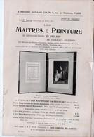 Paris Librairie ARMAND COLLIN  : Annonce LES MAITRES DE LA PEINTURE (PPP22949) - Publicidad