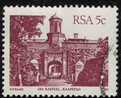 Afrique Du Sud 1982 Oblitéré Used Die Kasteel Kaapstad Fort De Bonne Espérance Le Cap SU - África Del Sur (1961-...)