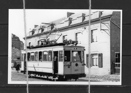 PHOTO TRAM B LEUVEN BRUSSEL  REPRO - Tram