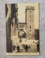 Cartolina Illustrata Vicenza - Pescheria Colla Torre Del Tormento - Non Viaggiata - Vicenza