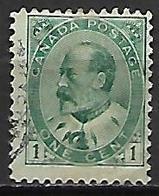 CANADA     -   1903 / 09  .  Y&T N° 78 Oblitéré - 1903-1908 Edward VII