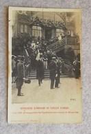 """Cartolina Ufficiale Dell'Esposizione Di Milano 1906 """"Stazione D'arrivo In Piazza D'Armi"""" - Exposiciones"""