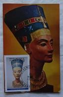 Carte Maximum Card Nefertiti Carte  Mali 1994 - Archaeology