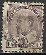CANADA     -   1903 / 09  .  Y&T N° 82 Oblitéré - 1903-1908 Edward VII