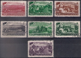 Russia 1948, Michel Nr 1229-35, Used - 1923-1991 UdSSR