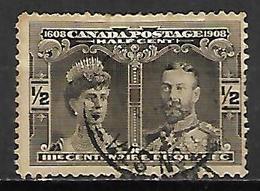 CANADA    -  1908    .Y&T N° 85 Oblitéré . - 1903-1908 Edward VII
