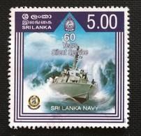 142. SRI LANKA USED STAMP SRILANKA NAVY - Sri Lanka (Ceylon) (1948-...)